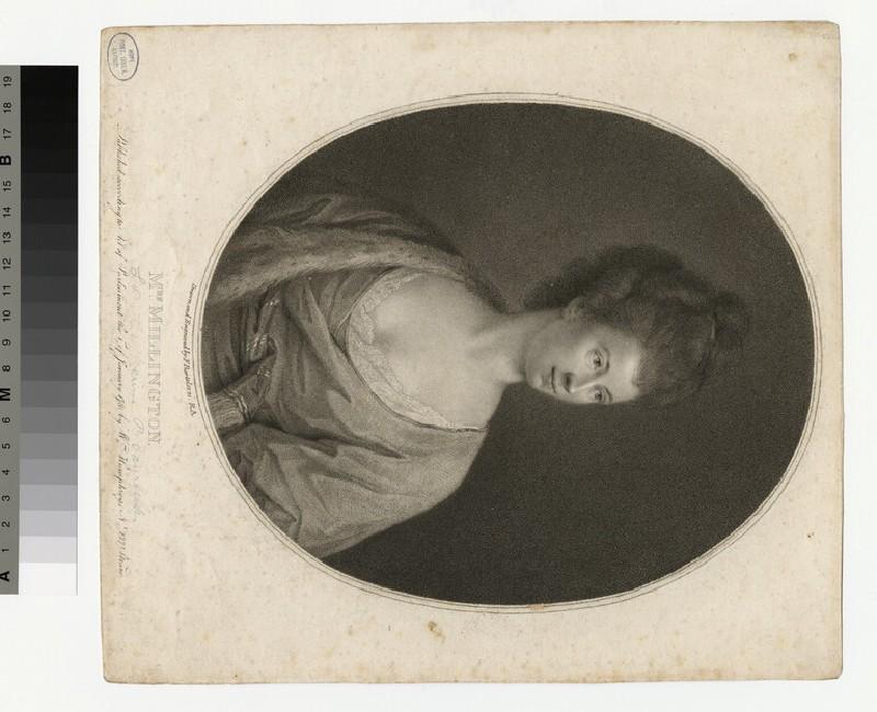 Portrait of Mrs Millington (WAHP29801)