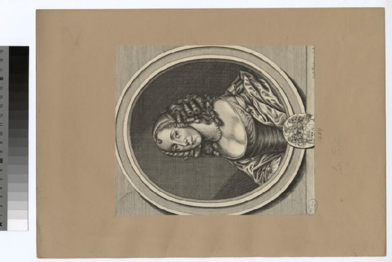 Portrait of Lady Paston (WAHP29841)