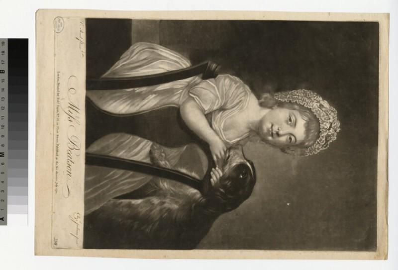 Portrait of Miss Beatson