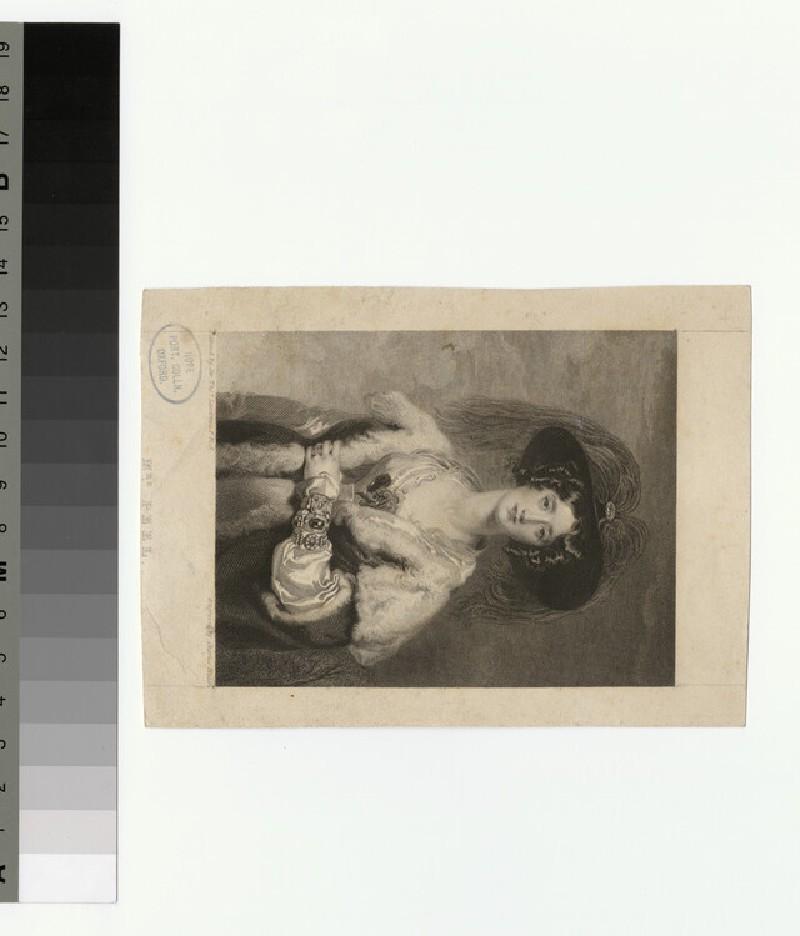 Portrait of Mrs Peel (WAHP29859)