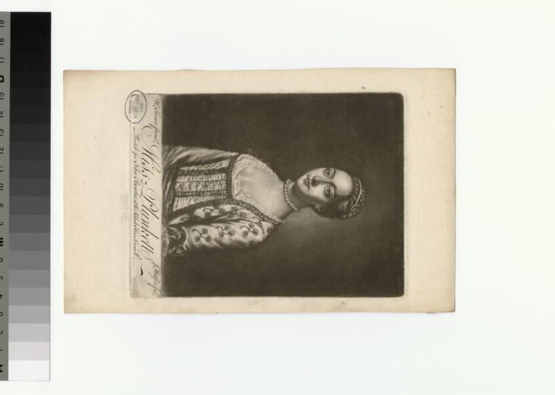 Portrait of Miss Plunkett (WAHP29871.1)