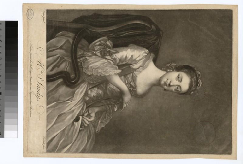 Portrait of Mrs Sandys