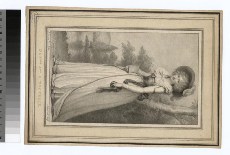 Portrait of Hon. Mrs Bouverie