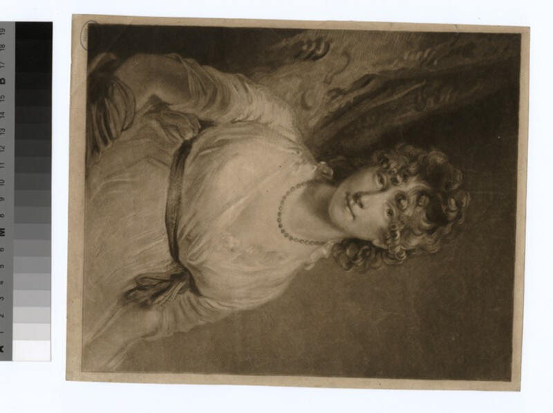 Portrait of Mrs Bouverie (WAHP29976)