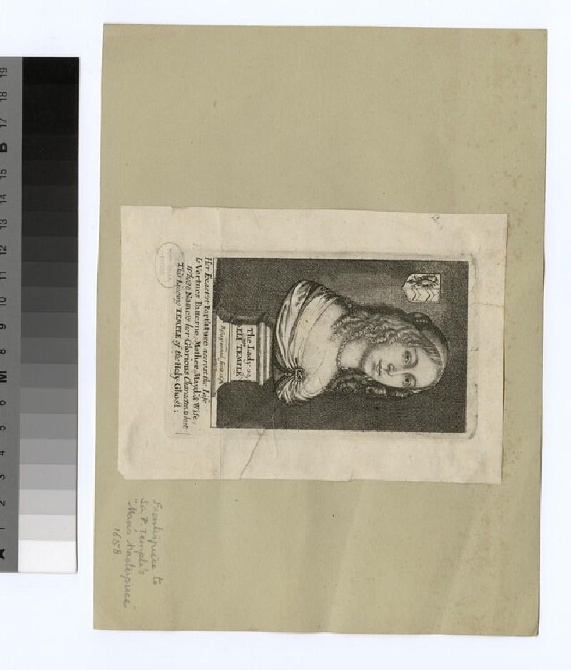 Portrait of Lady E. Temple