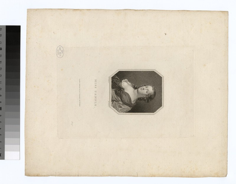 Portrait of Miss Temple (WAHP29984)
