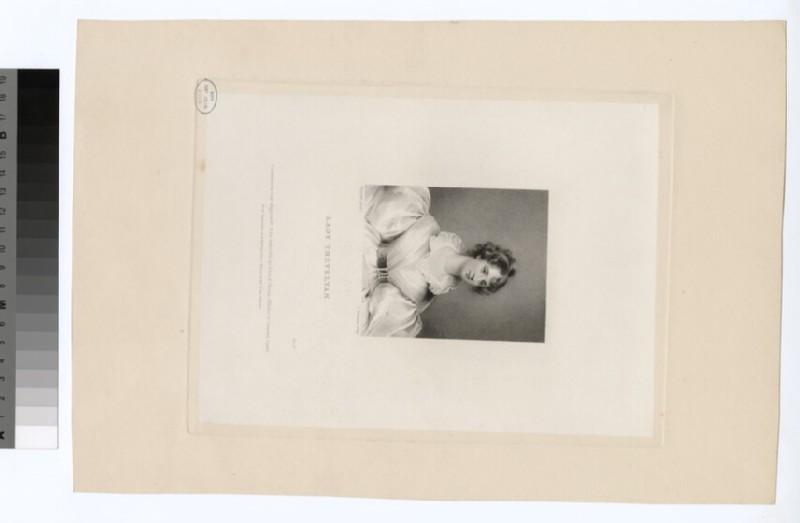 Portrait of Lady Trevelyan (WAHP29995)