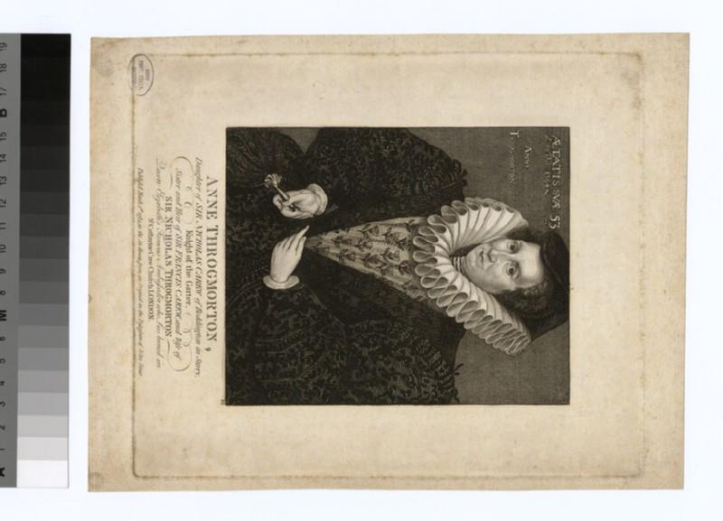 Portrait of Anne Throgmorton (WAHP30004)