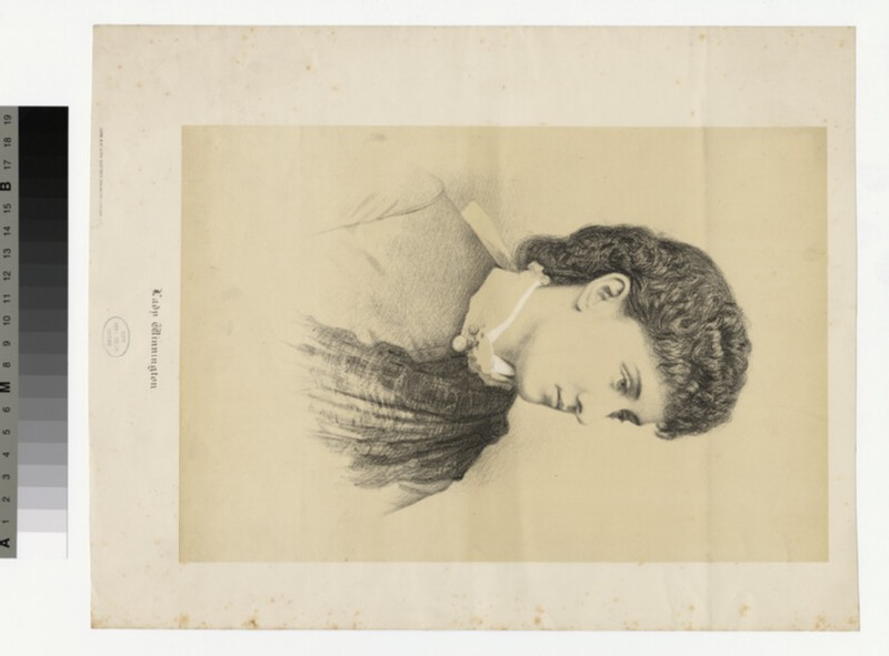 Portrait of Lady Winnington (WAHP30059)