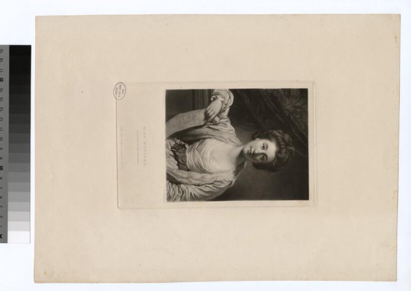 Portrait of Miss Wynyard