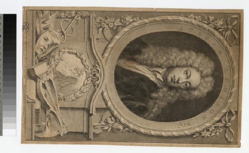 Portrait of J. Addison (WAHP30083)