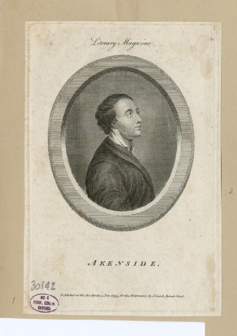 Portrait of Dr. Akenside