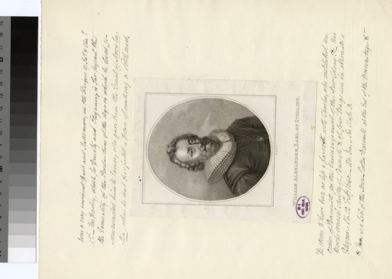 Portrait of Earl of Stirling (WAHP30157)