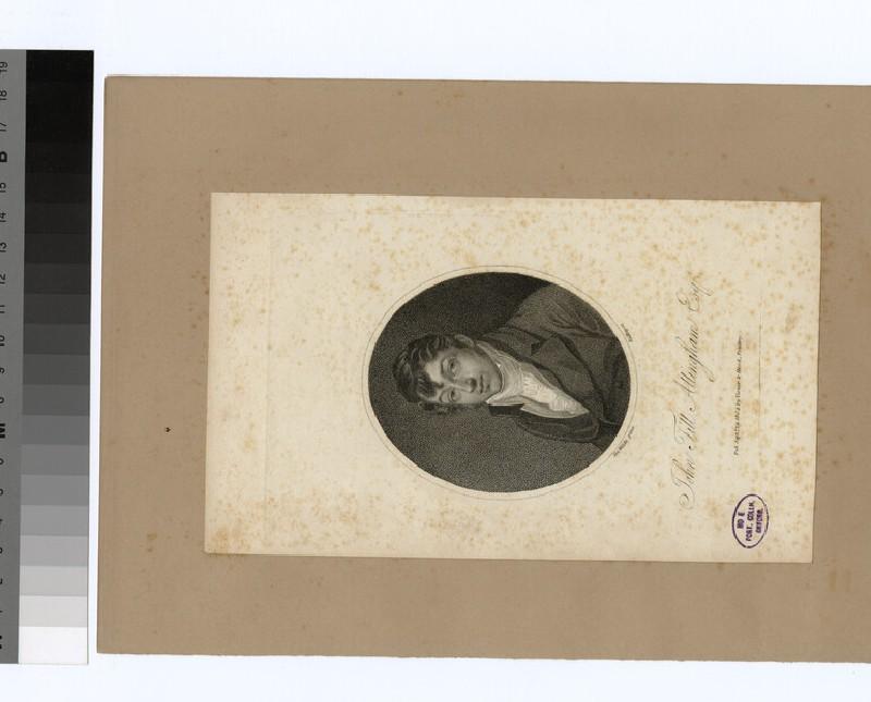 Portrait of J. T. Allingham