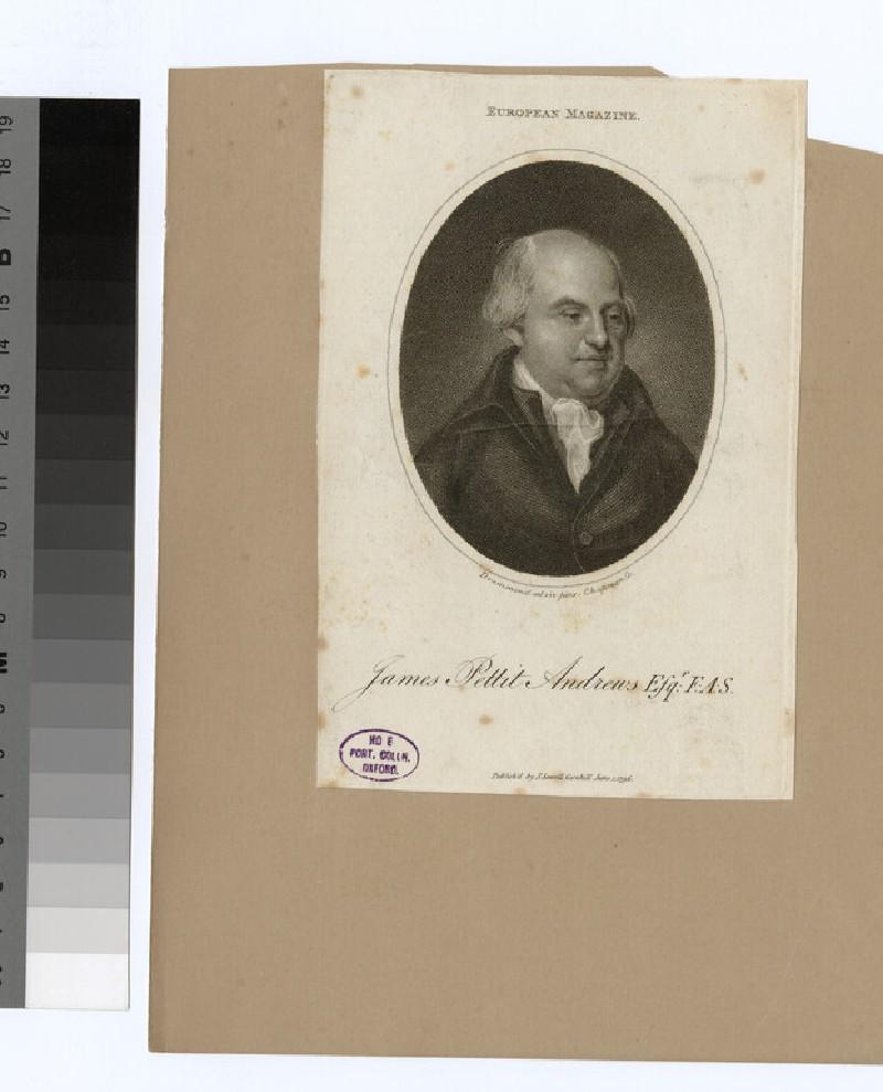 Portrait of J. P. Andrews