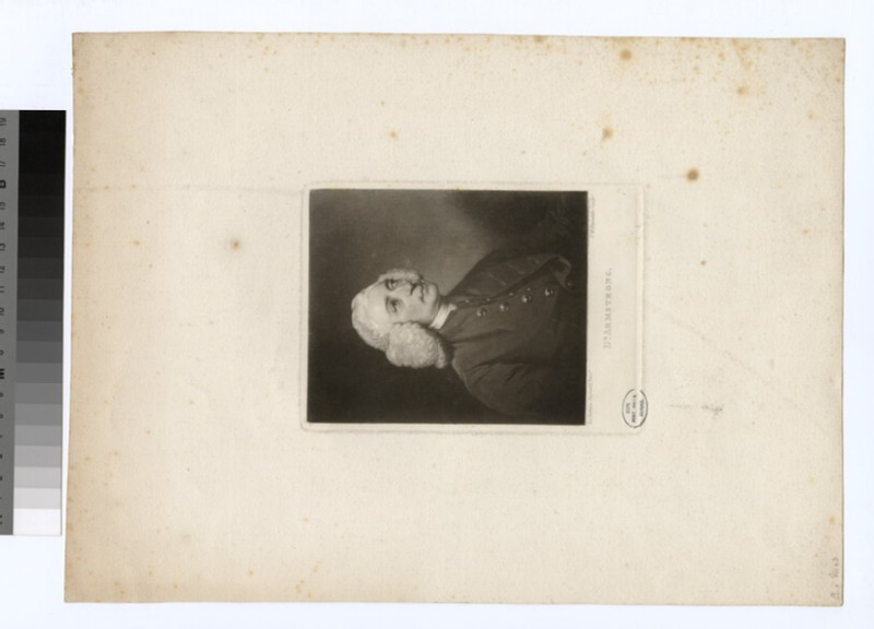 Portrait of Dr Armstrong (WAHP30173.1)