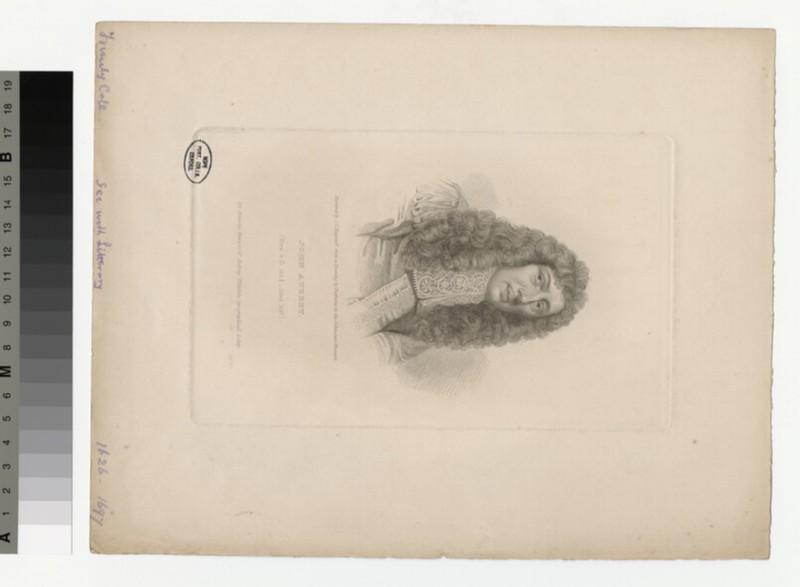 Portrait of J. Aubrey