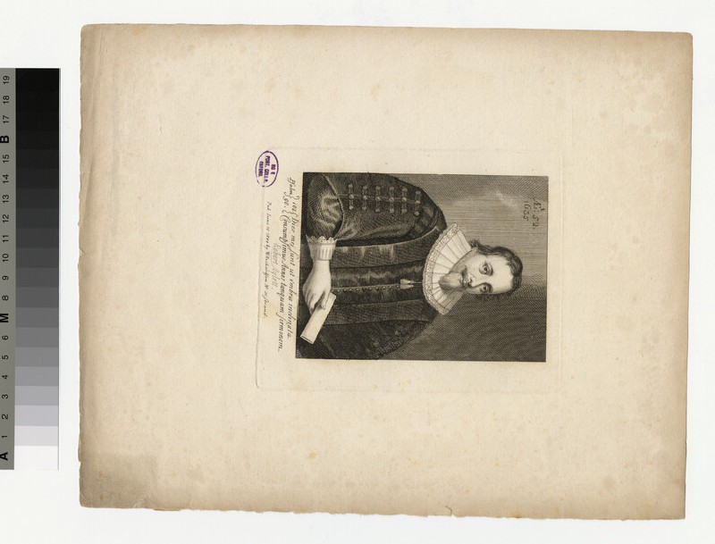 Portrait of R. Aylett