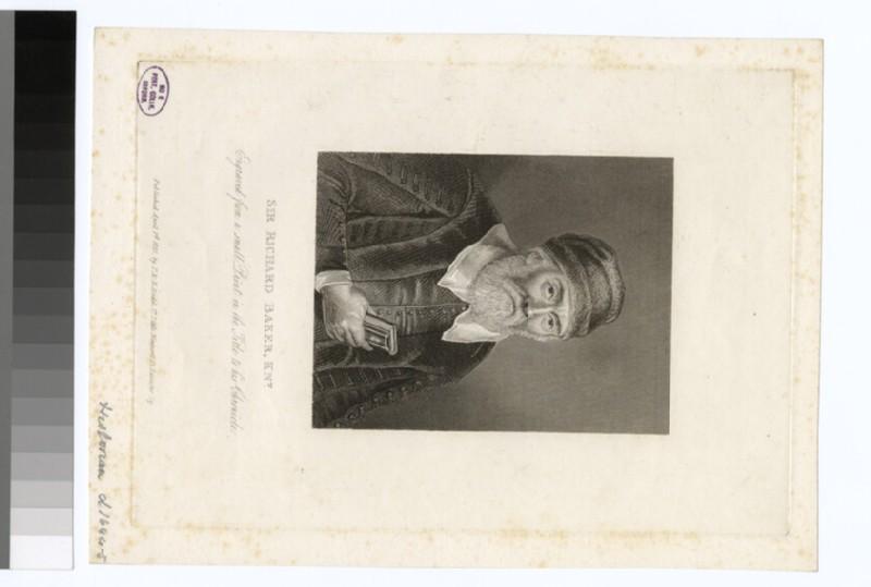 Portrait of R. Baker (WAHP30213)