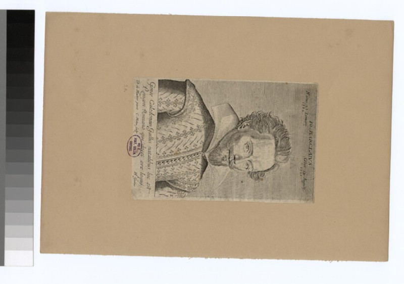 Portrait of J. Barclay
