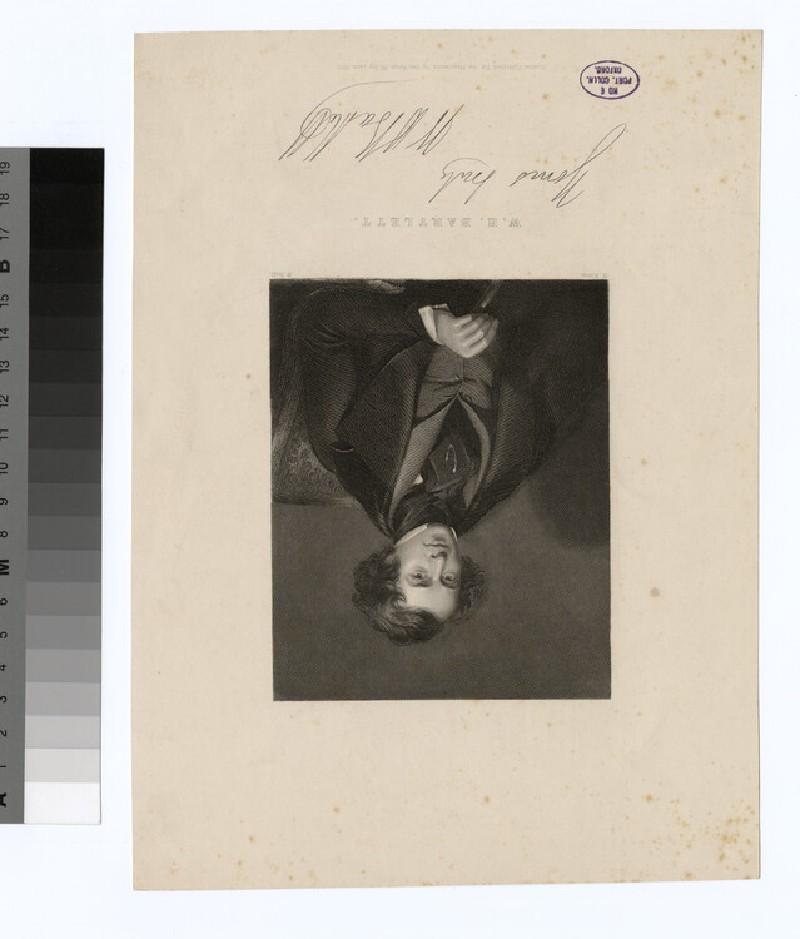 Portrait of W. H. Bartlett