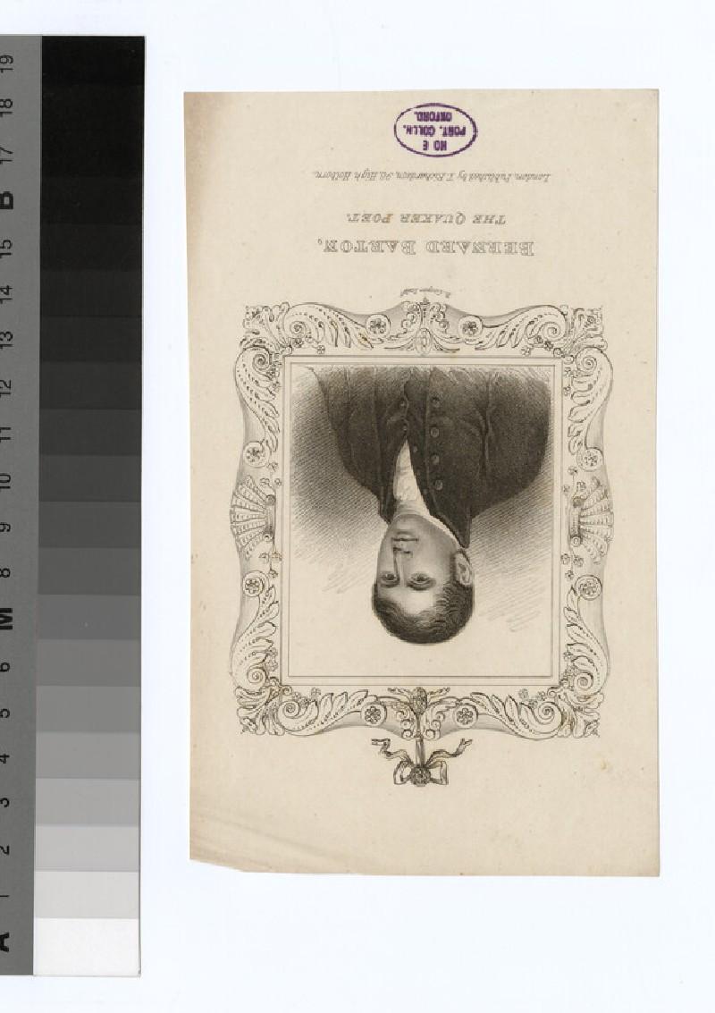 Portrait of B. Barton (WAHP30234)