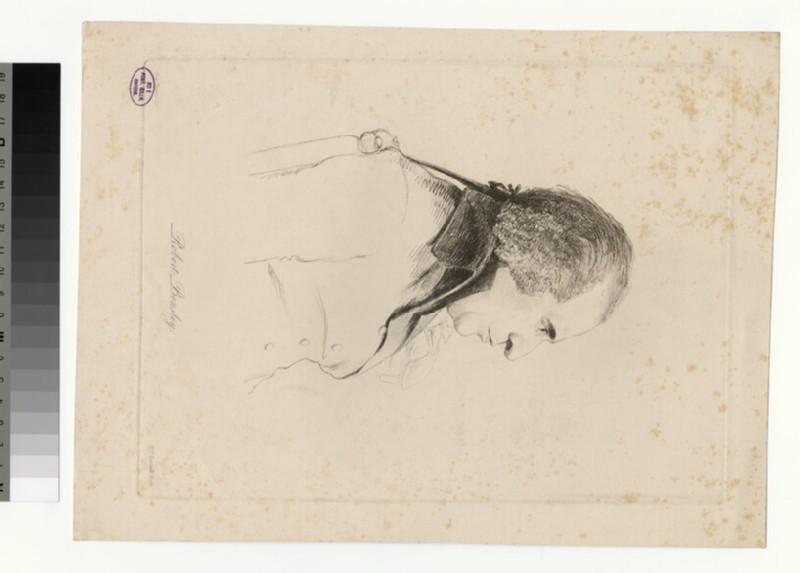 Portrait of R. Bensley