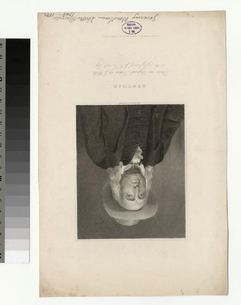 Portrait of J. Bentham