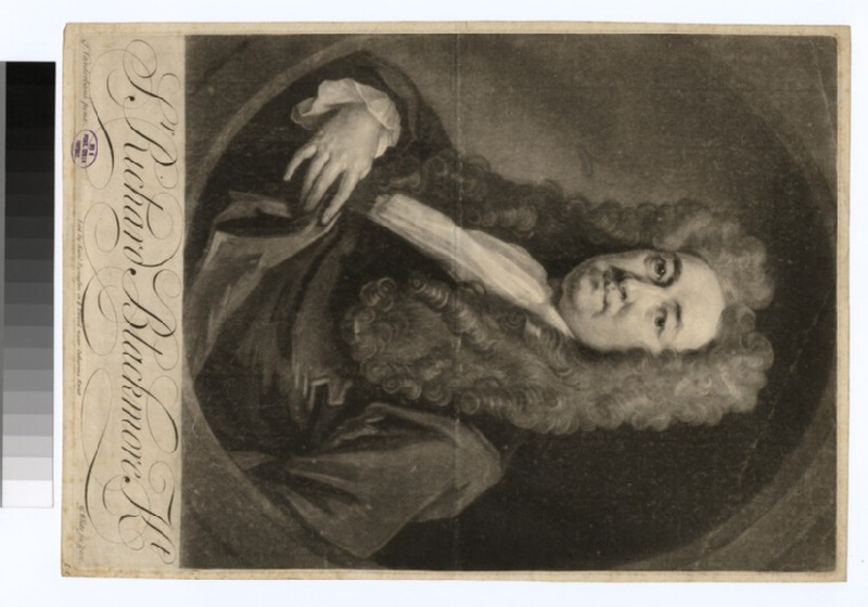 Portrait of Sir R. Blackmore