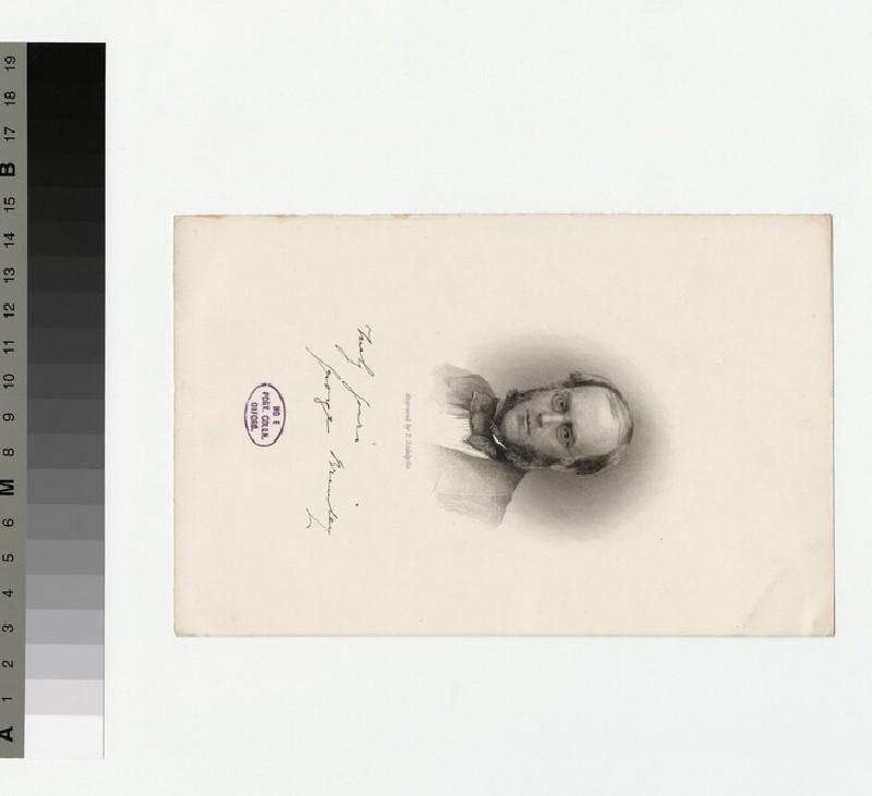 Portrait of G. Brinley
