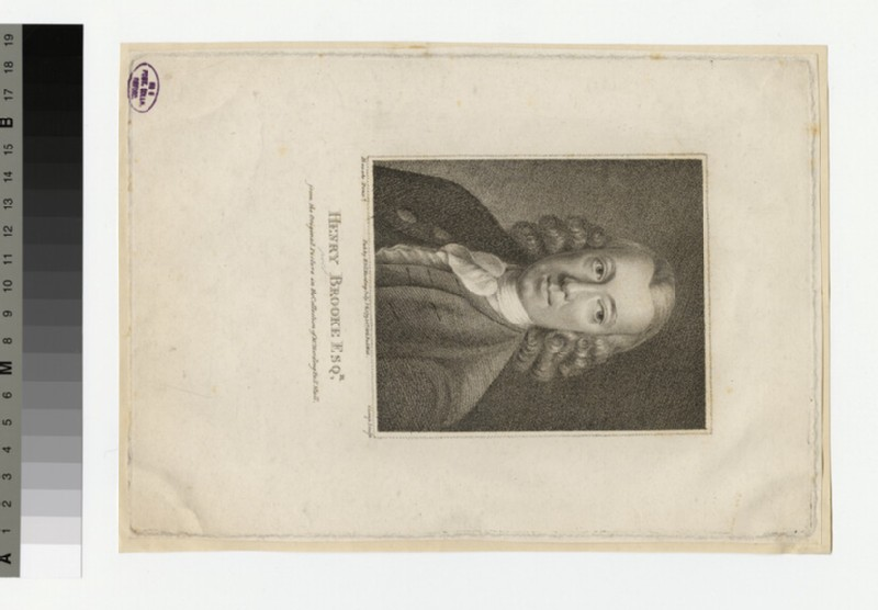 Portrait of H. Brooke (WAHP30357)