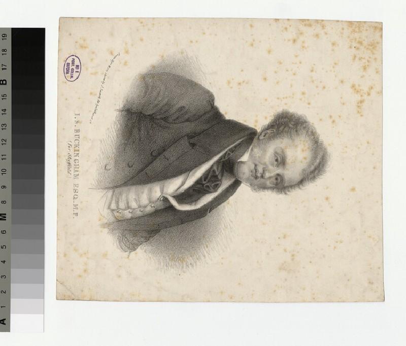Portrait of I. S. Buckingham (WAHP30399)