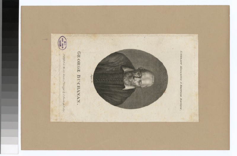 Portrait of G. Buchanan (WAHP30406)