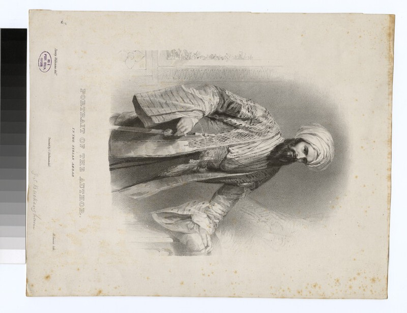 Portrait of J. S. Buckingham (WAHP30438)