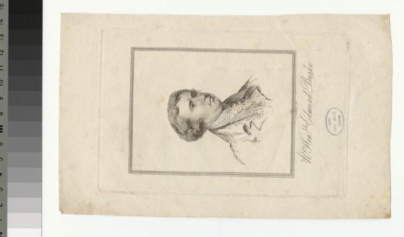Portrait of E. Burke (WAHP30452)