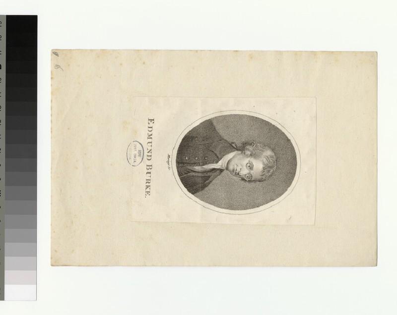 Portrait of E. Burke (WAHP30457)