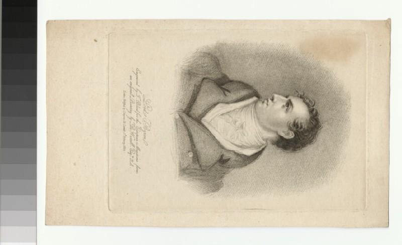 Portrait of Byron (WAHP30603)