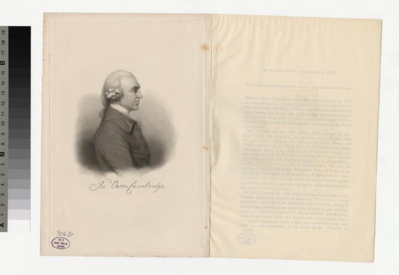 Portrait of R. Owen (WAHP30631)