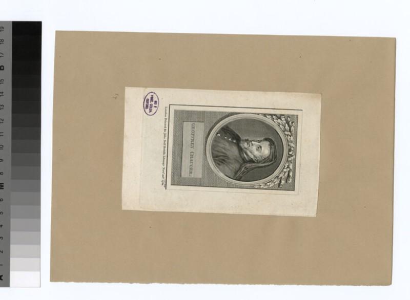 Portrait of G. Chaucer