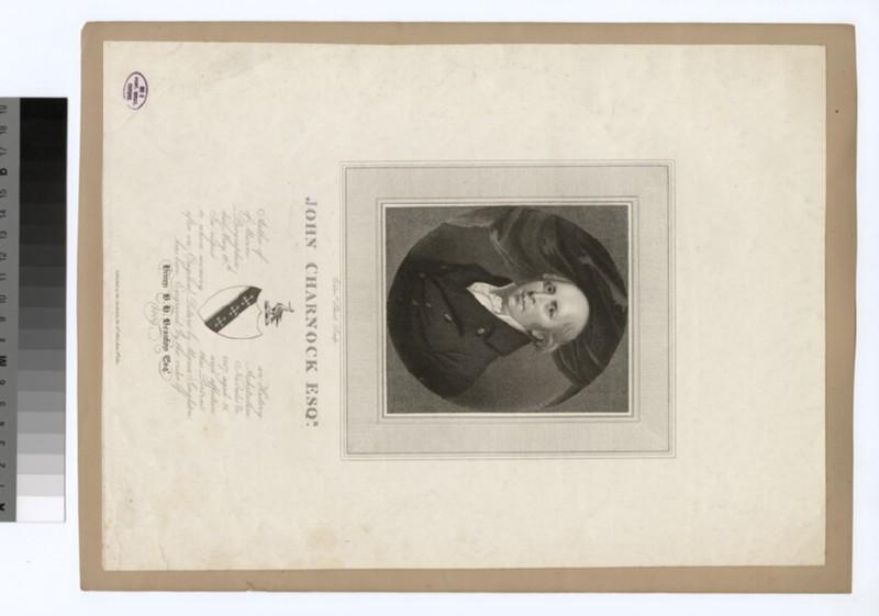 Portrait of J. Charnock