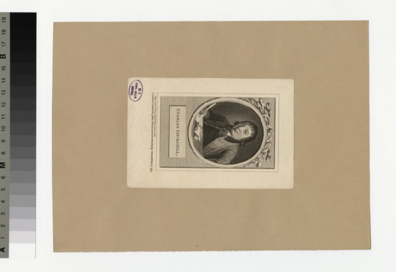Portrait of C. Churchill (WAHP30731)