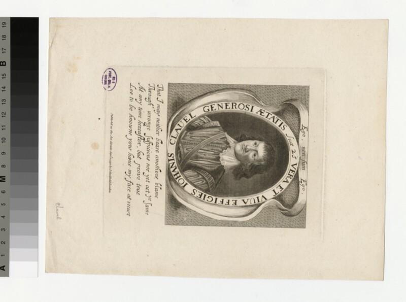 Portrait of J. Clavel