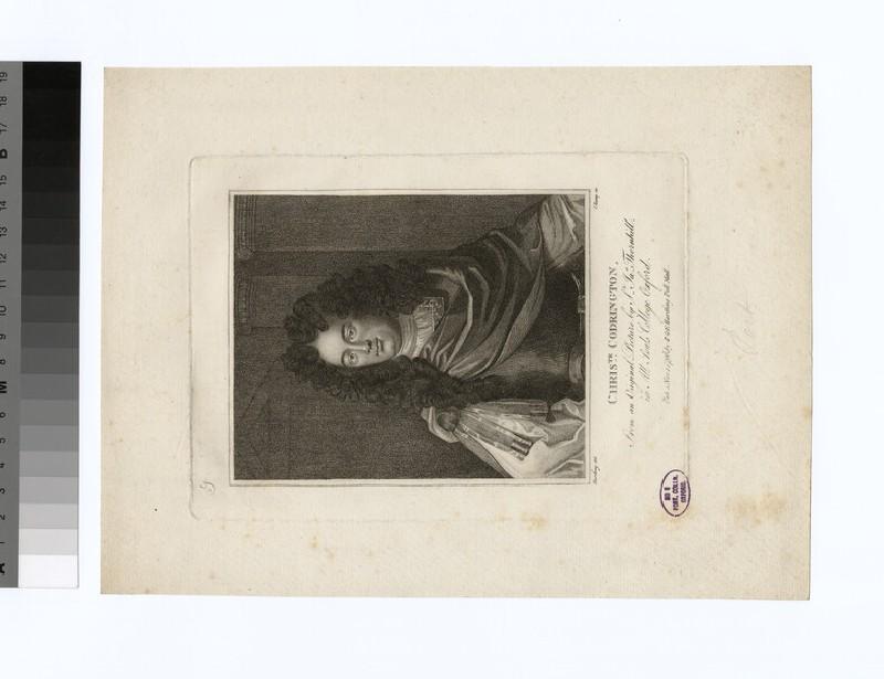 Portrait of C. Codrington (WAHP30764)