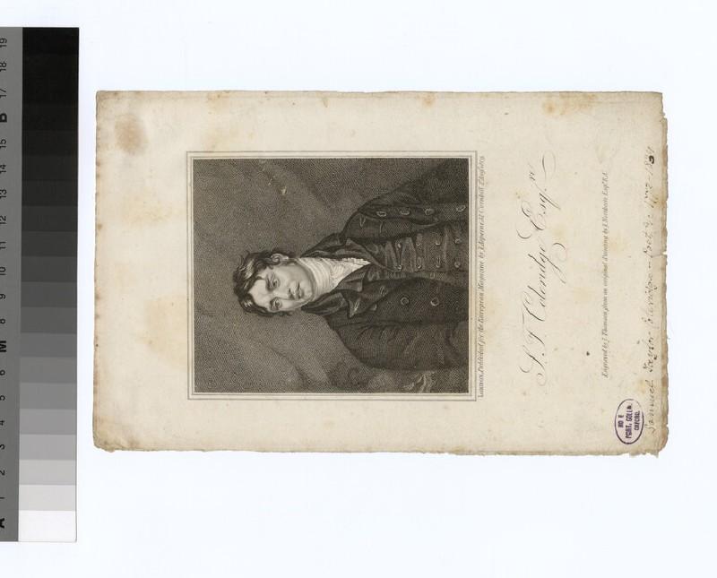 Portrait of Coleridge