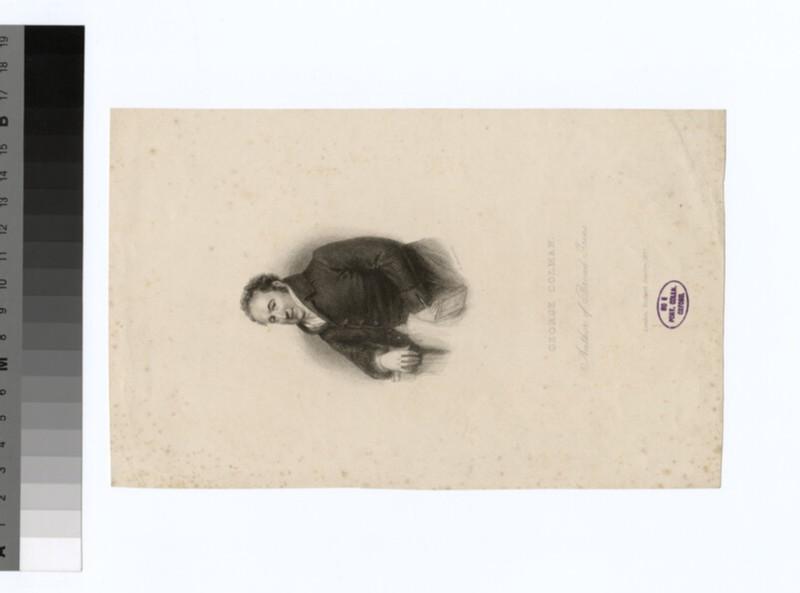 Portrait of G. Colman (WAHP30792)
