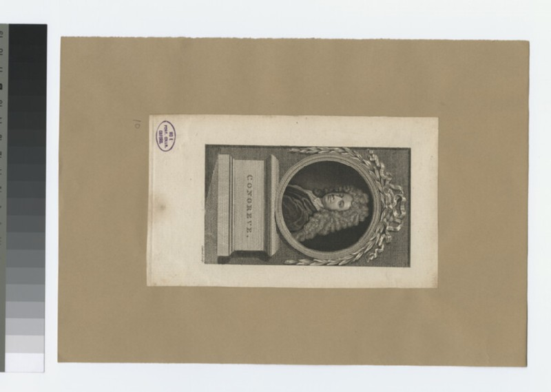 Portrait of W. Congreve (WAHP30806)