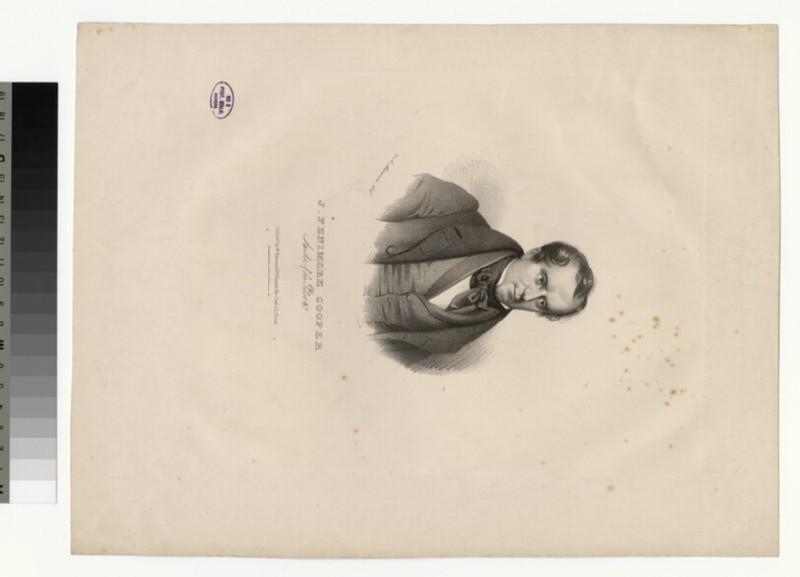 Portrait of J. F. Cooper