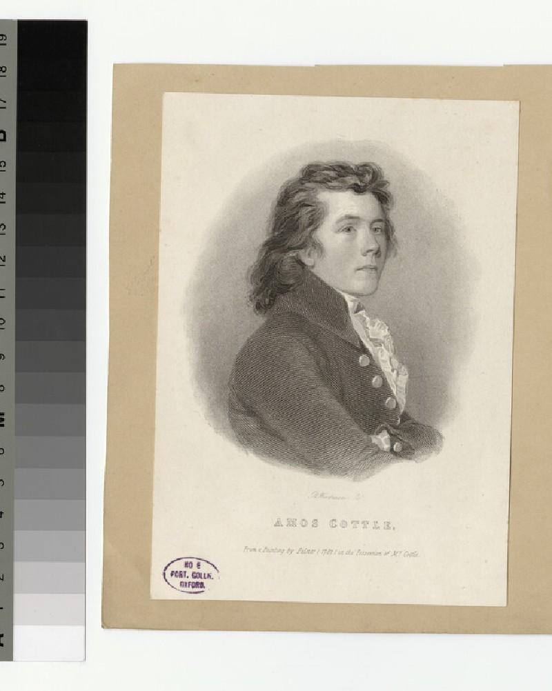 Portrait of A. Cottle