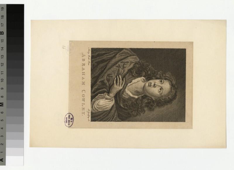 Portrait of Abraham Cowley