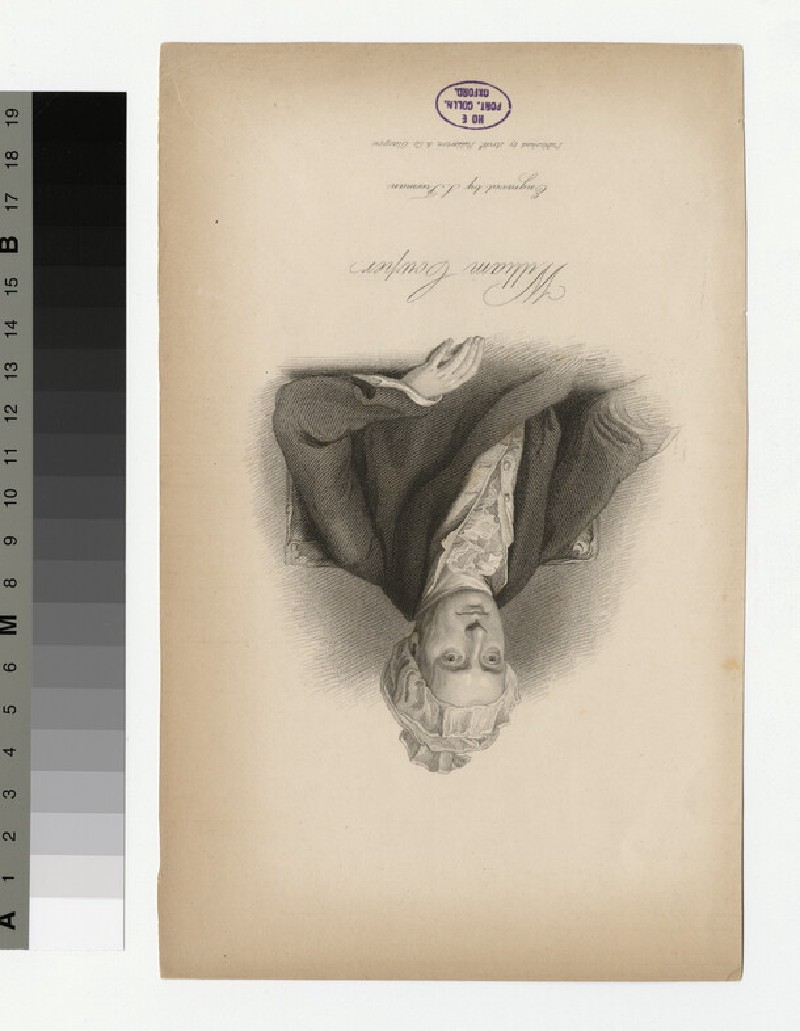 Portrait of W. Cowper (WAHP30872)